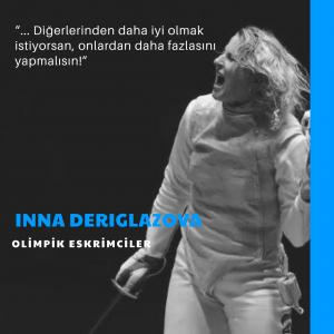 Olimpik Eskrimciler: Inna Deriglazova
