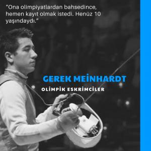 Gerek Meinhardt - Olimpik Eskrimciler